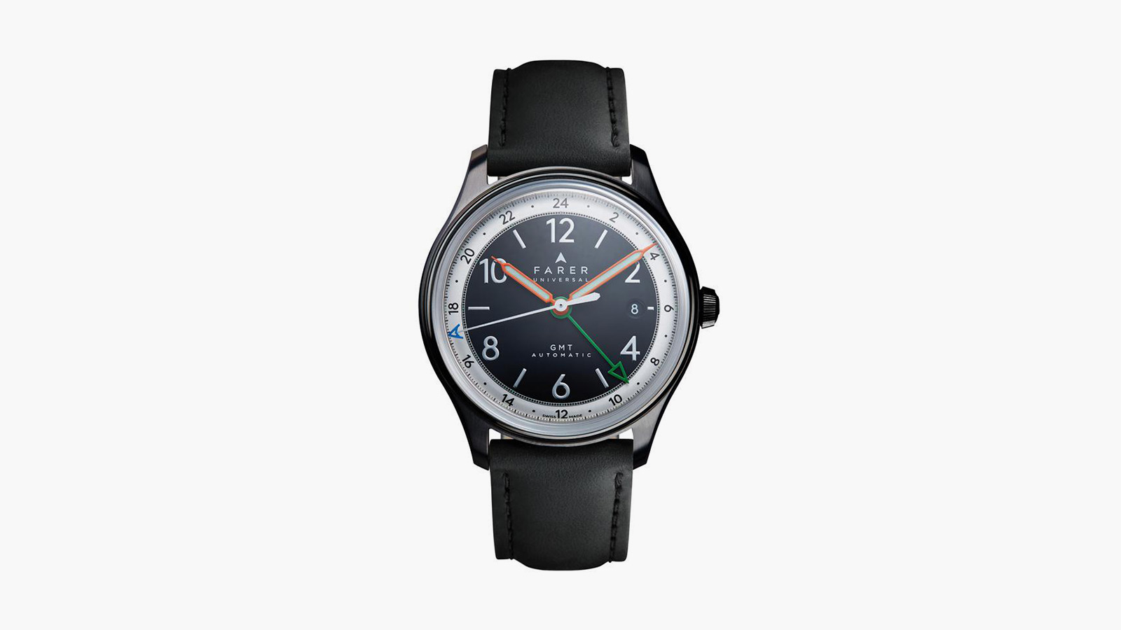 Farer Oxley GMT Black Limited Edition