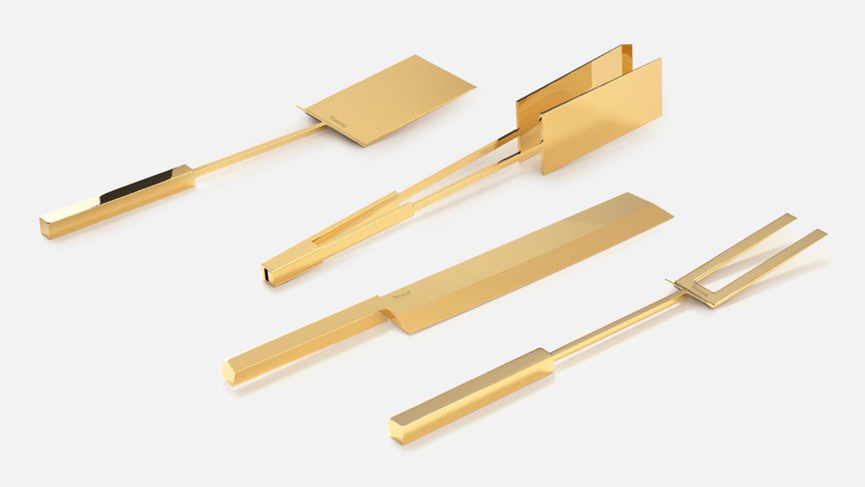 Miansai 14k Gold Grill Set