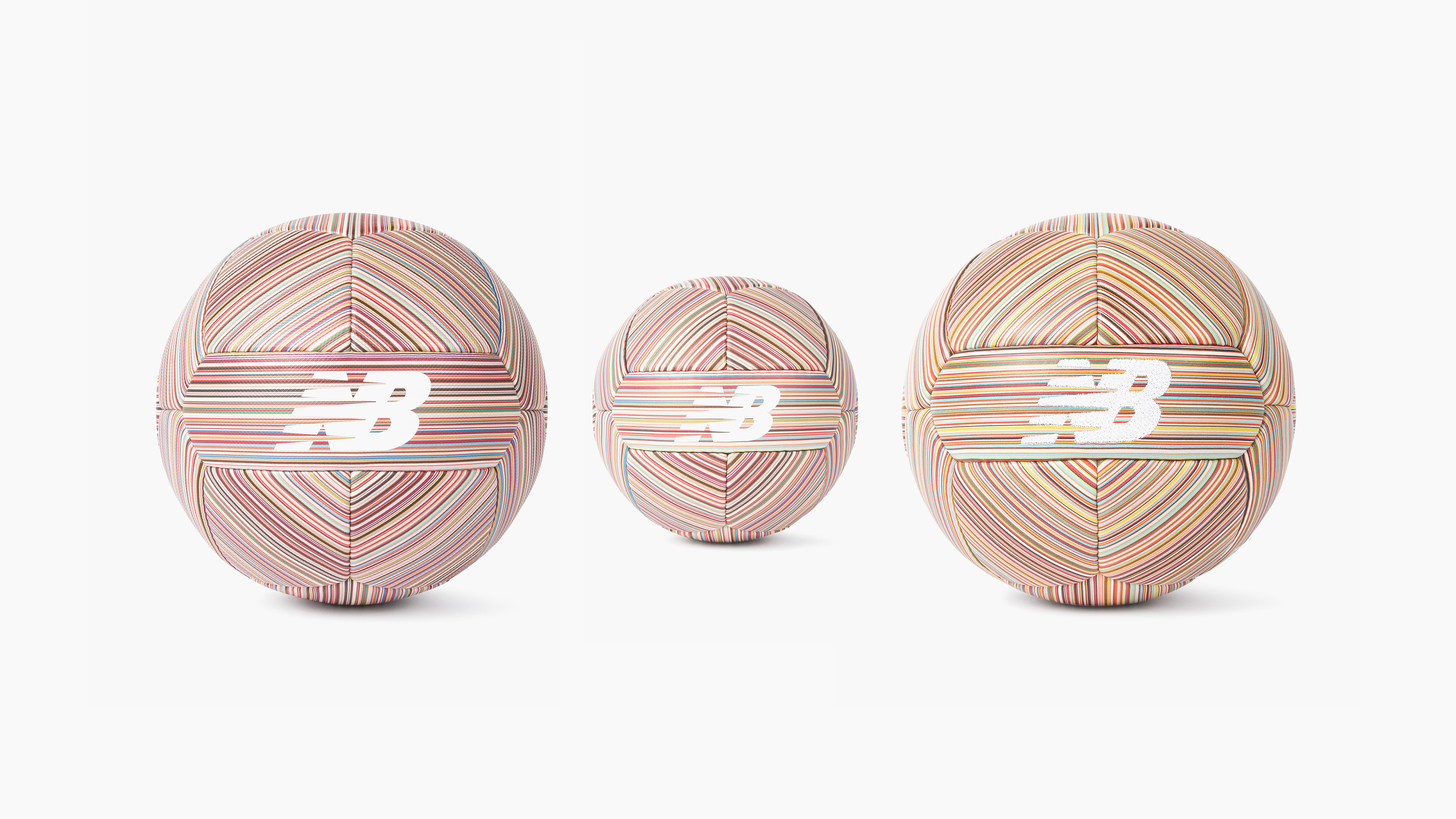 New Balance x Paul Smith Signature Stripe Leather Football