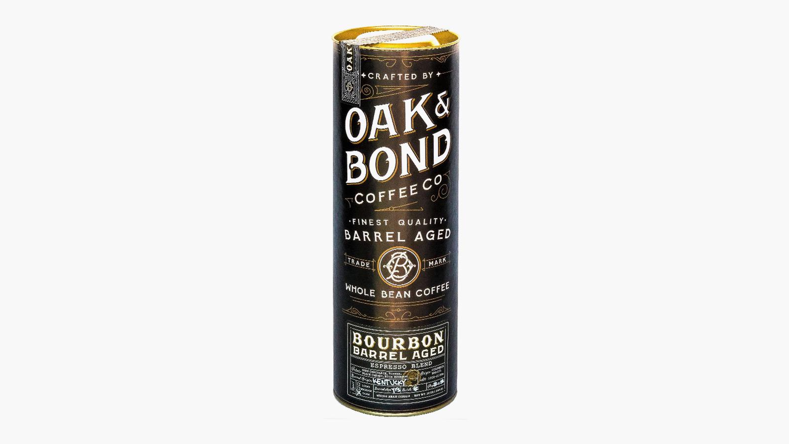 Oak & Bond Espresso Bourbon Barrel Aged Coffee