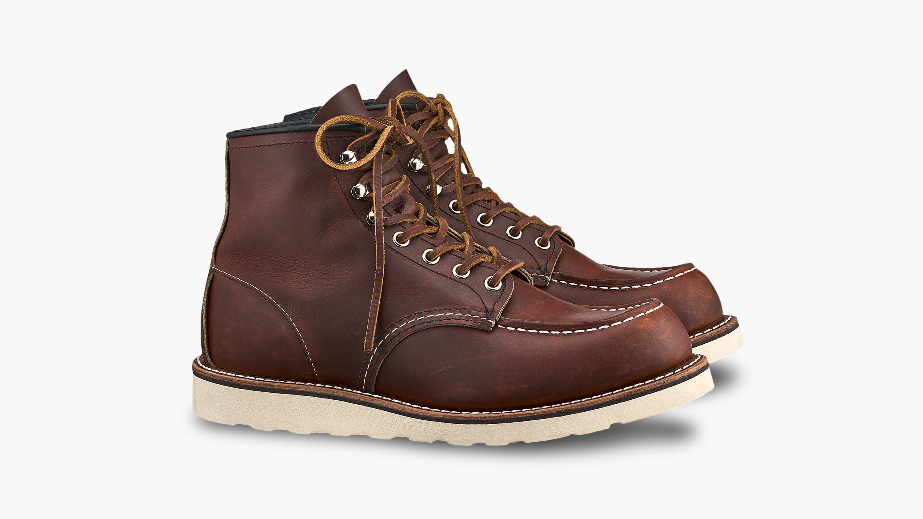 Red Wing 875 Moc Toe Boots