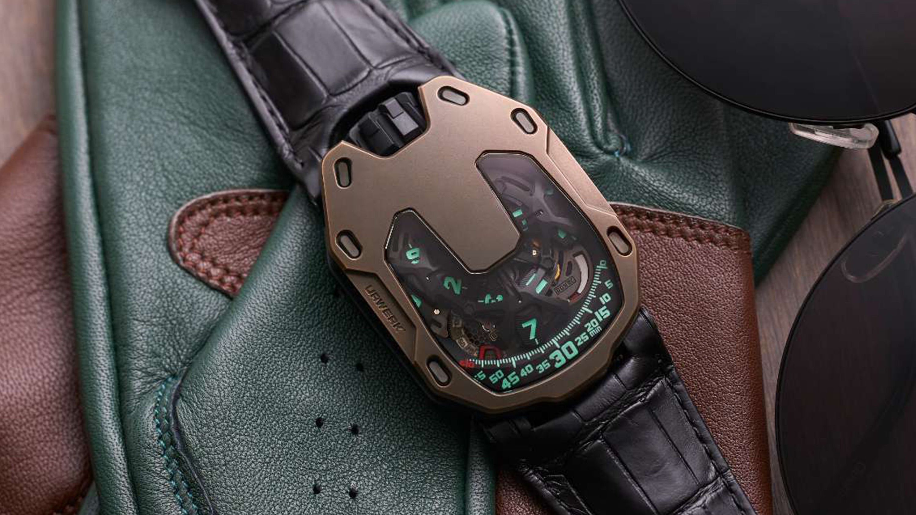 Urwerk x The Hour Glass UR-105 Commemorative Edition