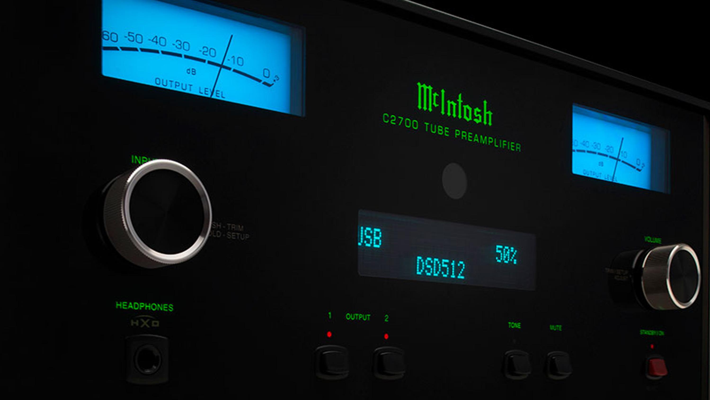 McIntosh C2700 Tube Preamplifier