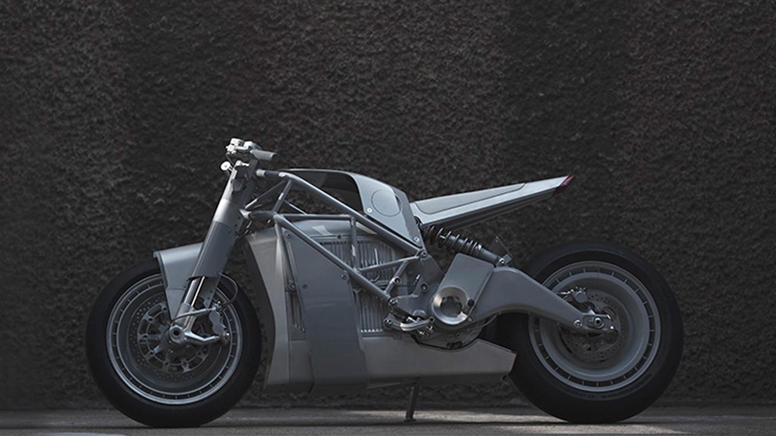 Untitled UMC-063 ZERO XP Experimental Electric Motorcycle