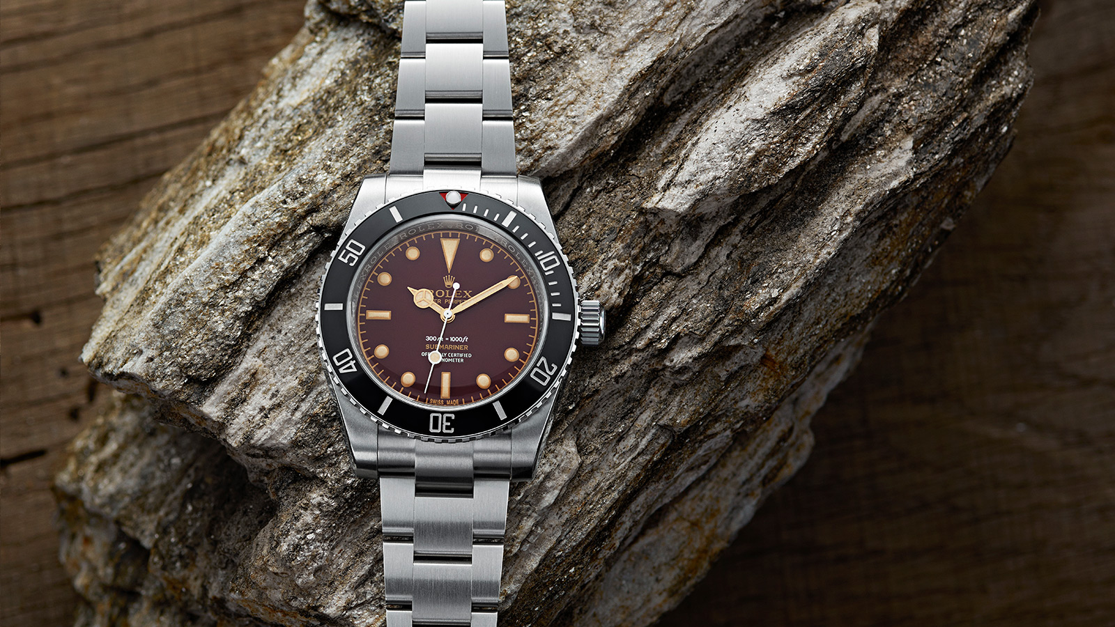 Artisans De Genève Tribute to 6536 Brown Rolex Submariner