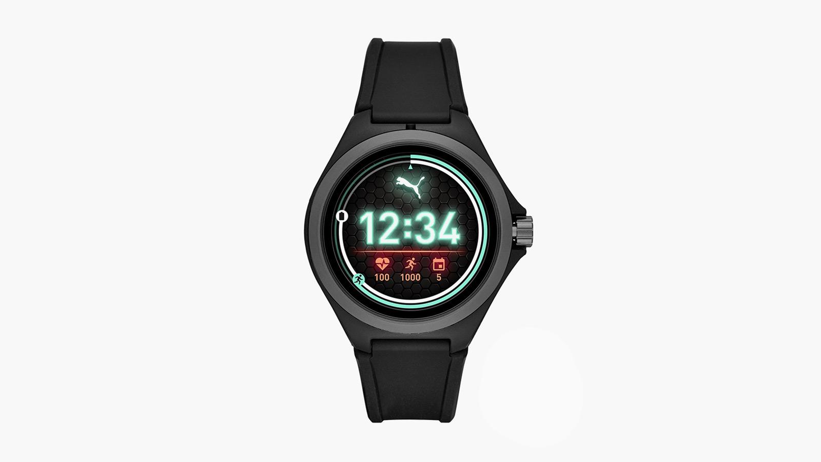 Puma Black Smartwatch