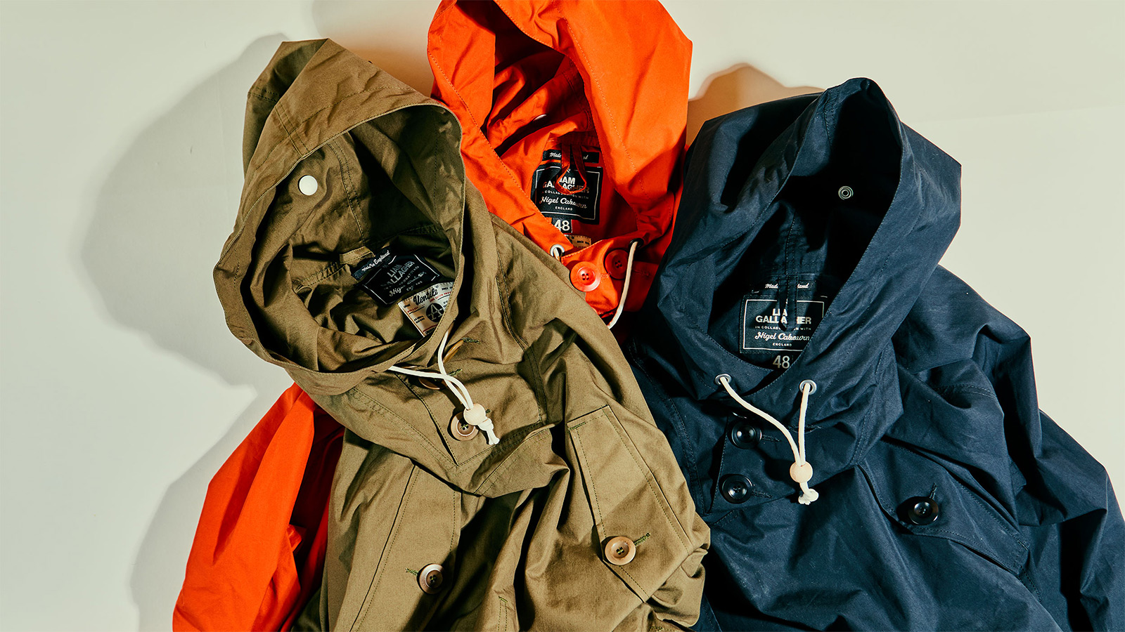 Liam Gallagher x Nigel Cabourn Parka Collection