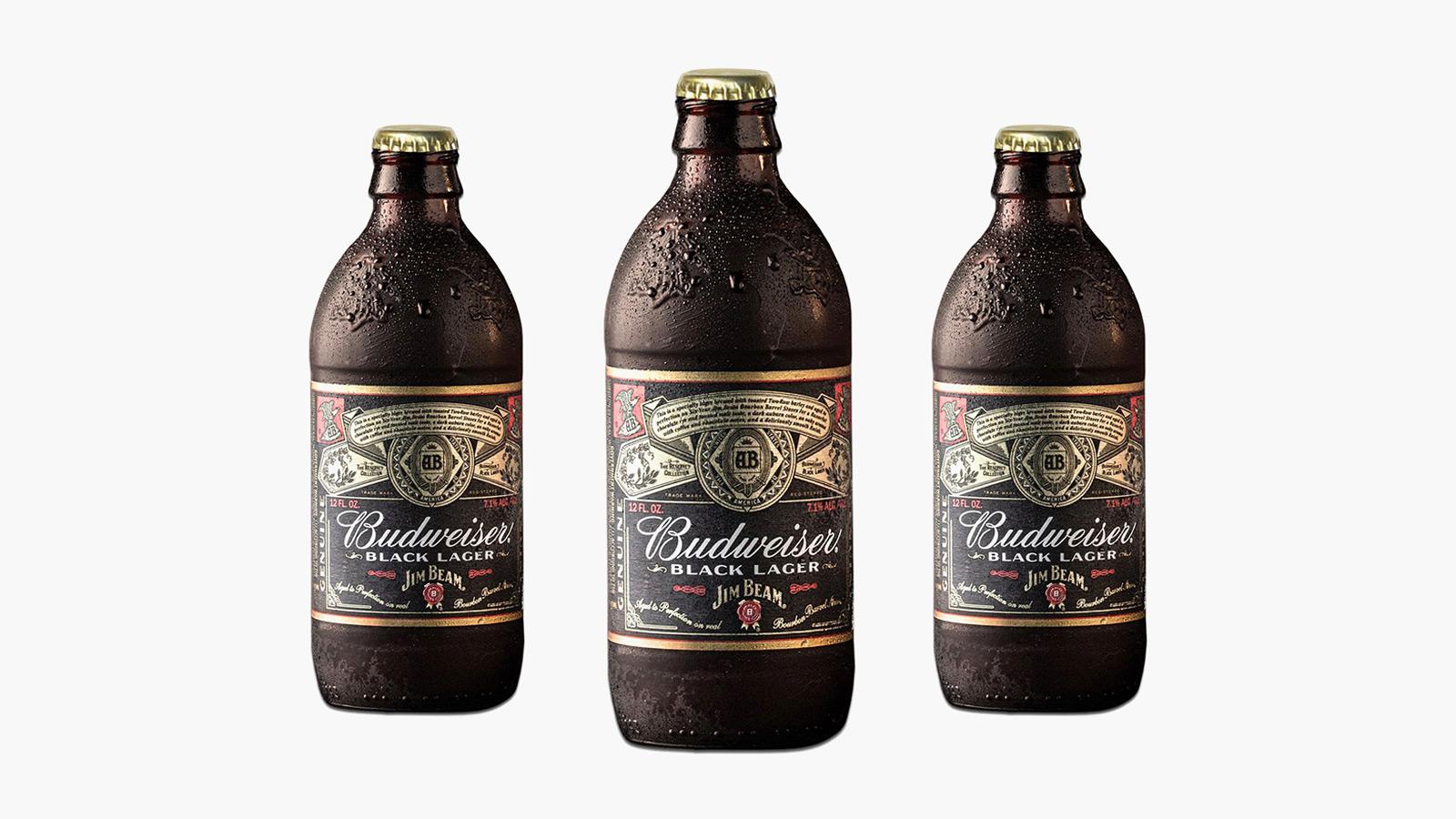 Budweiser x Jim Beam Reserve Black Lager