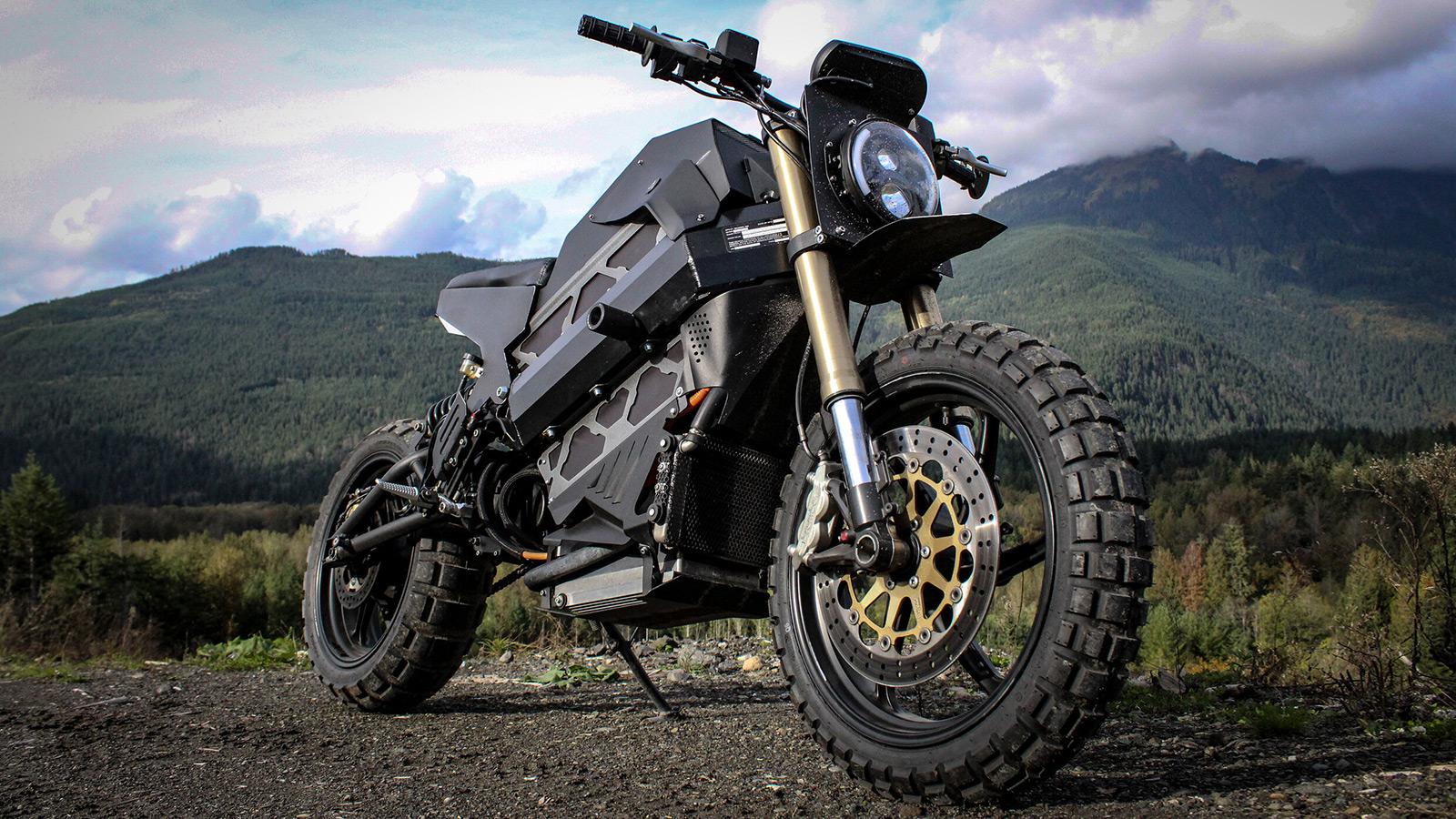 Droog Moto E-Scrambler