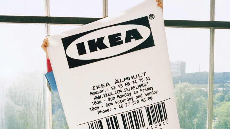 Virgil Abloh x IKEA MARKERAD collection