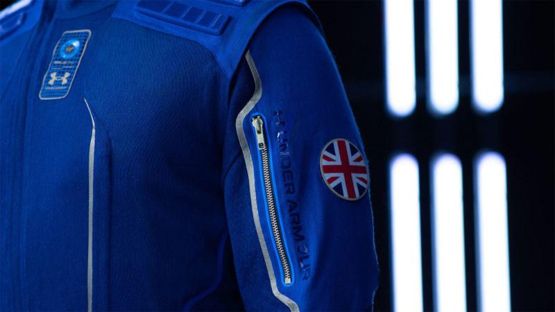 Virgin Galactic x Under Armour Spacesuit