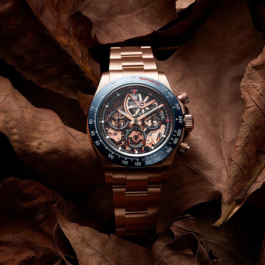Artisans de Genève La Blausee Gold Rolex Daytona