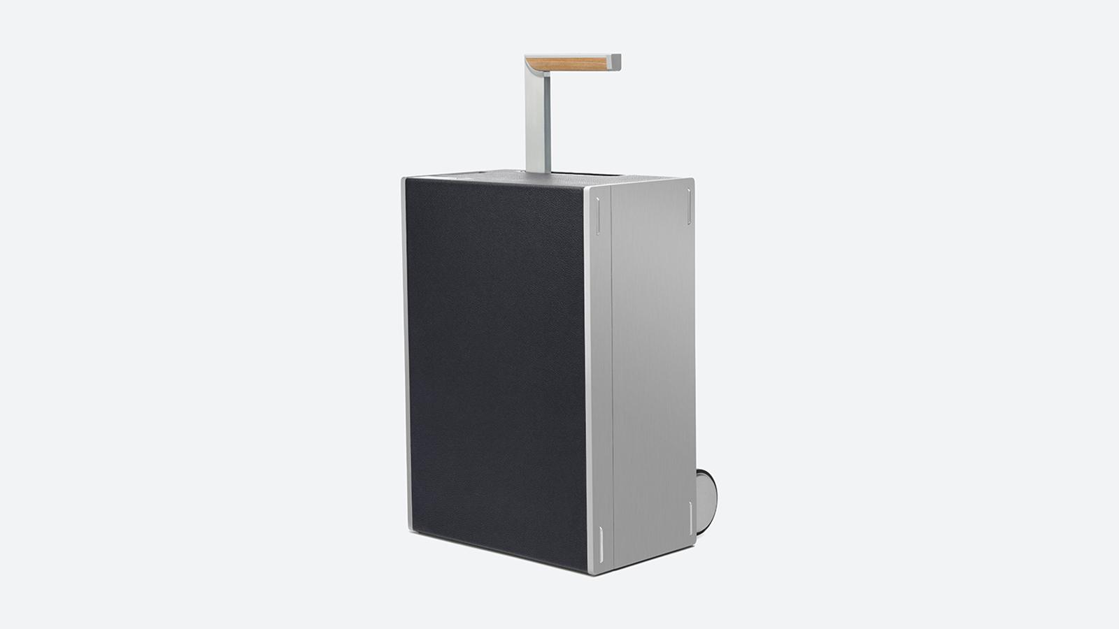 Charles Simon Bonaventure Aluminum Luggage