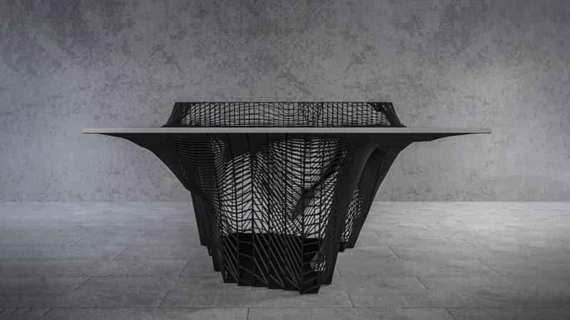 Mousarris Plexus Ping Pong Table