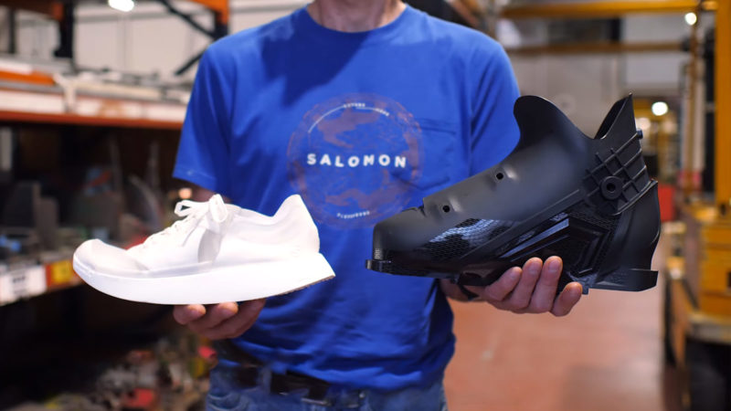 Salomon Recyclable Running Shoe Concept