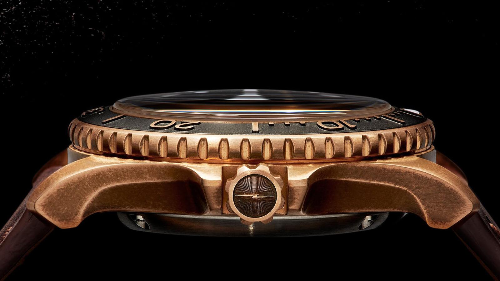 Shinola Monster Bronze Watch