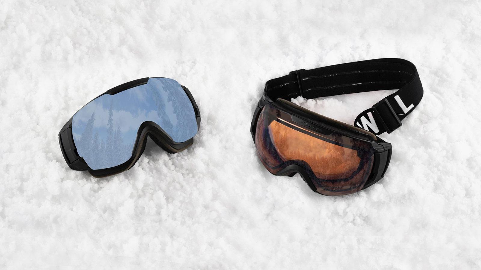 Westward Leaning SKI Goggle