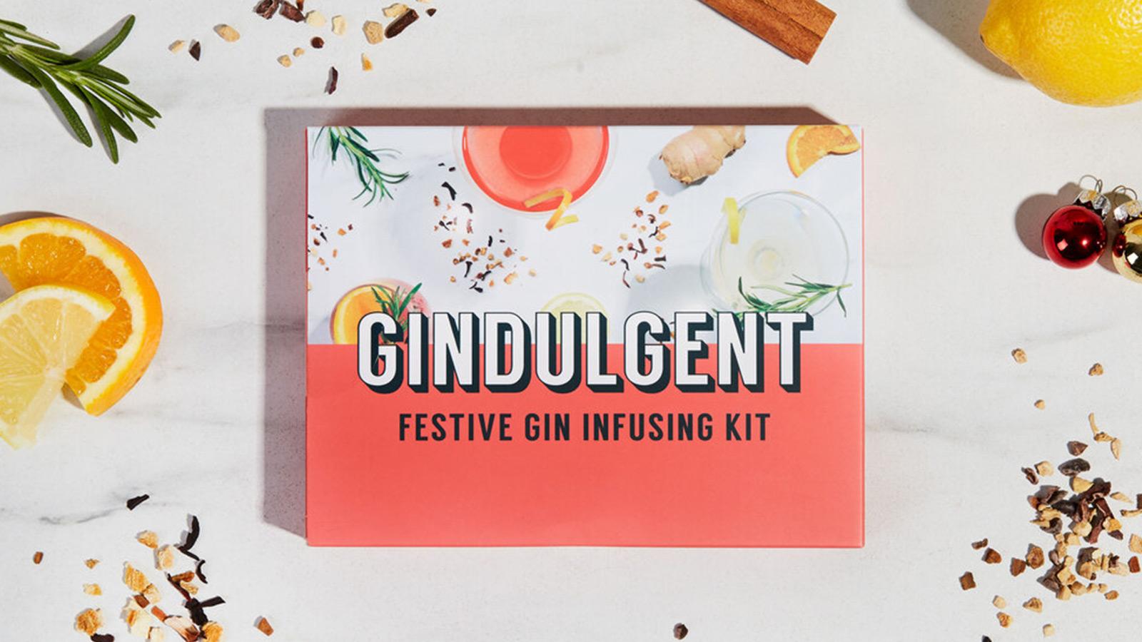 Festive Gindulgent Gin Infusing Kit