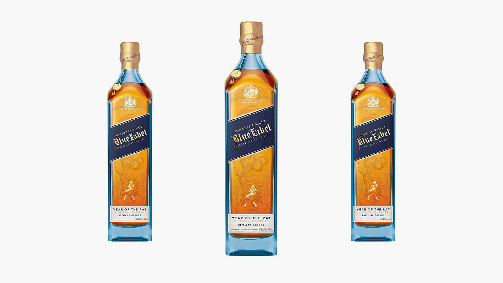 Johnnie Walker Blue Label Year of the Rat Limited Edition