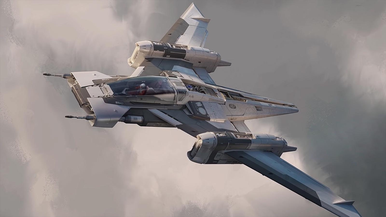 Star Wars x Porsche Tri-Wing S-91x Pegasus Starfighter