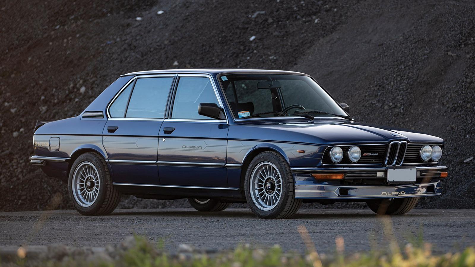 1982 BMW Alpina B7 S Turbo