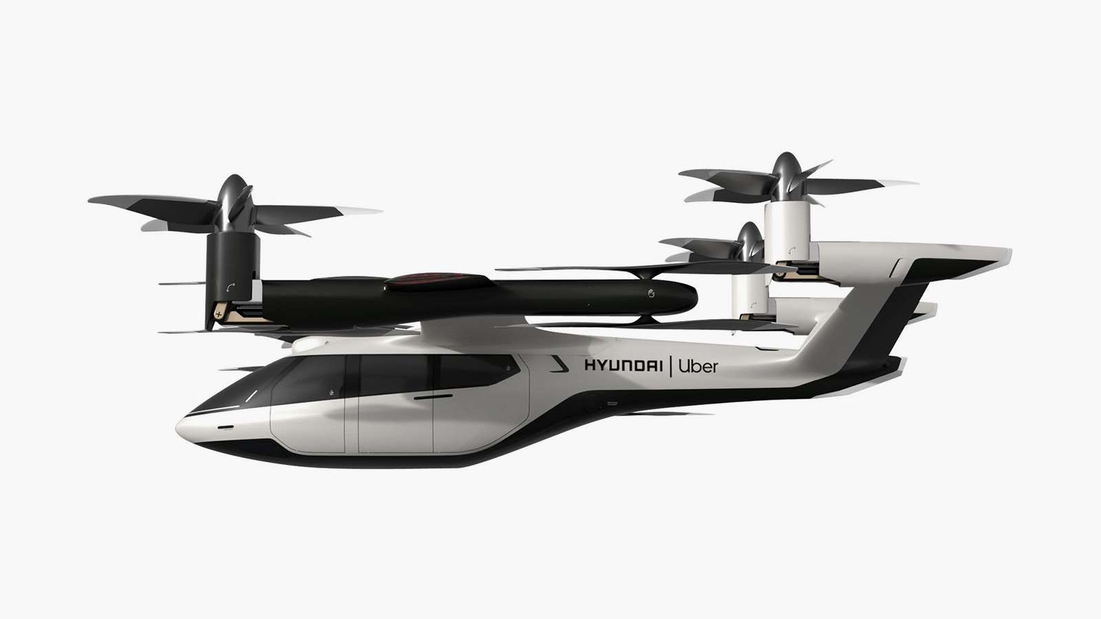 Hyundai x Uber Flying Electric Taxi