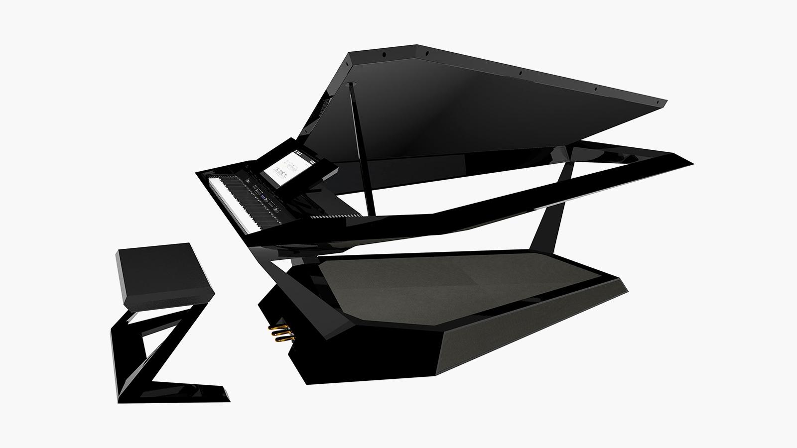 Roland GPX-F1 Facet Grand Piano Concept