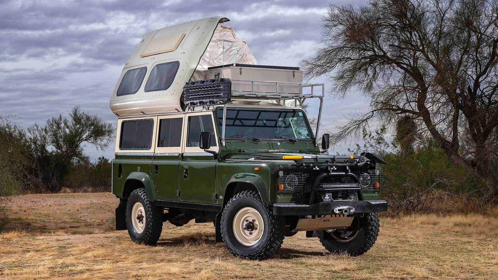 1984 Land Rover 110 Dormobile Overlanding Vehicle