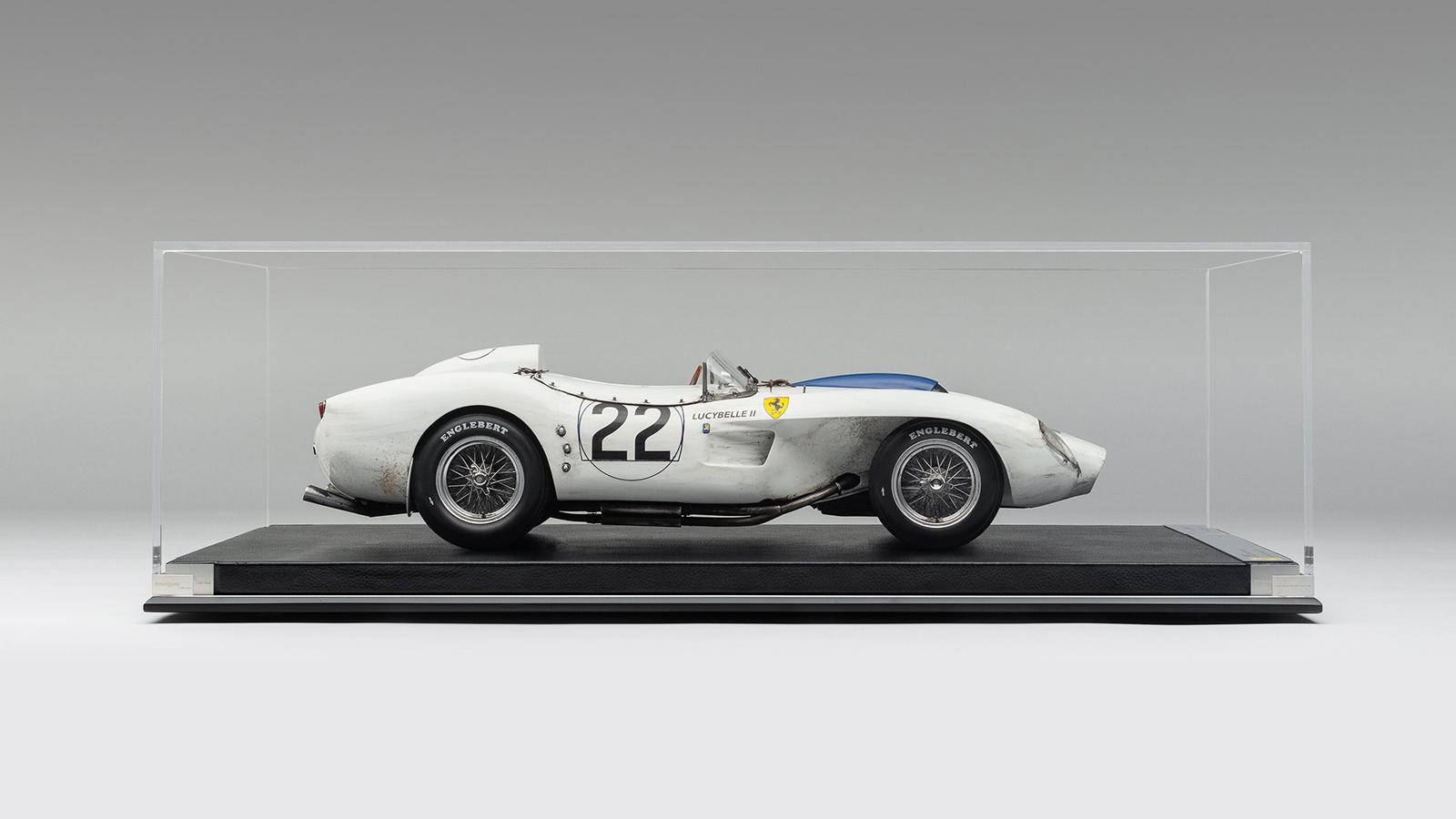 Amalgam Race Weathered Ferrari 250TR 'Lucybelle II'