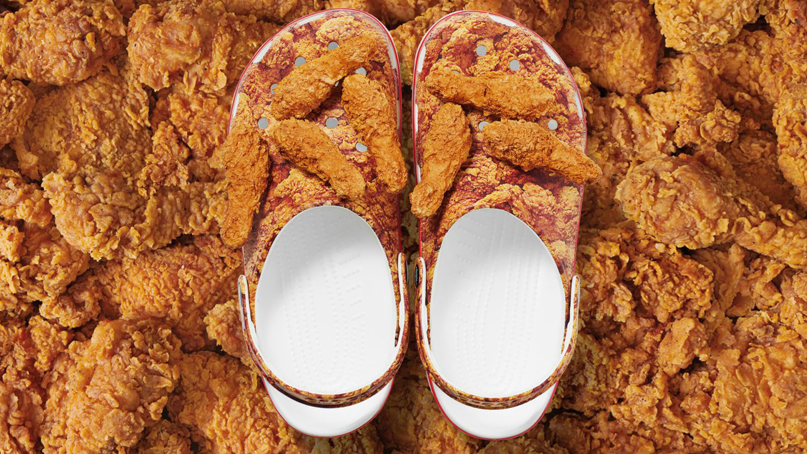 KFC x Crocs Clogs Limited Edition