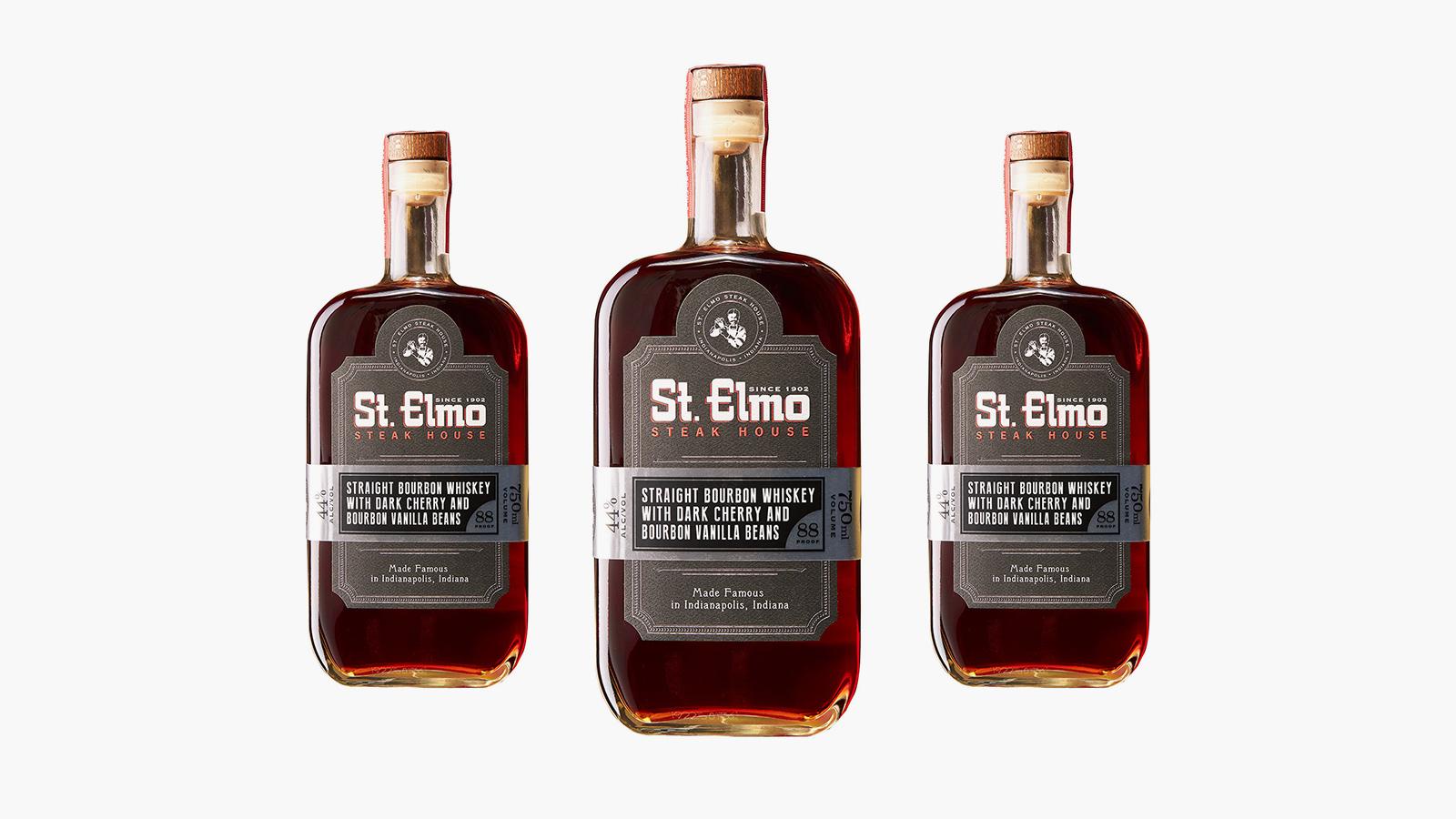 St. Elmo Straight Bourbon Whiskey