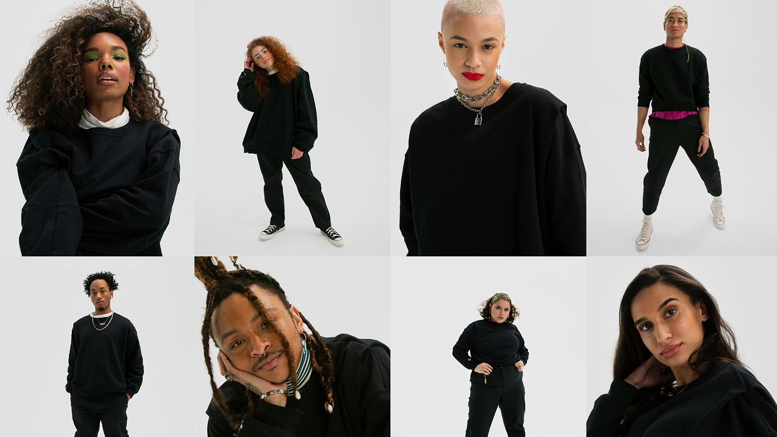 Converse SHAPES Genderless Apparel Collection