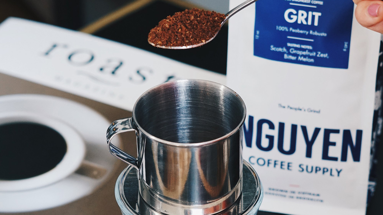 Ngyuen Grit Coffee
