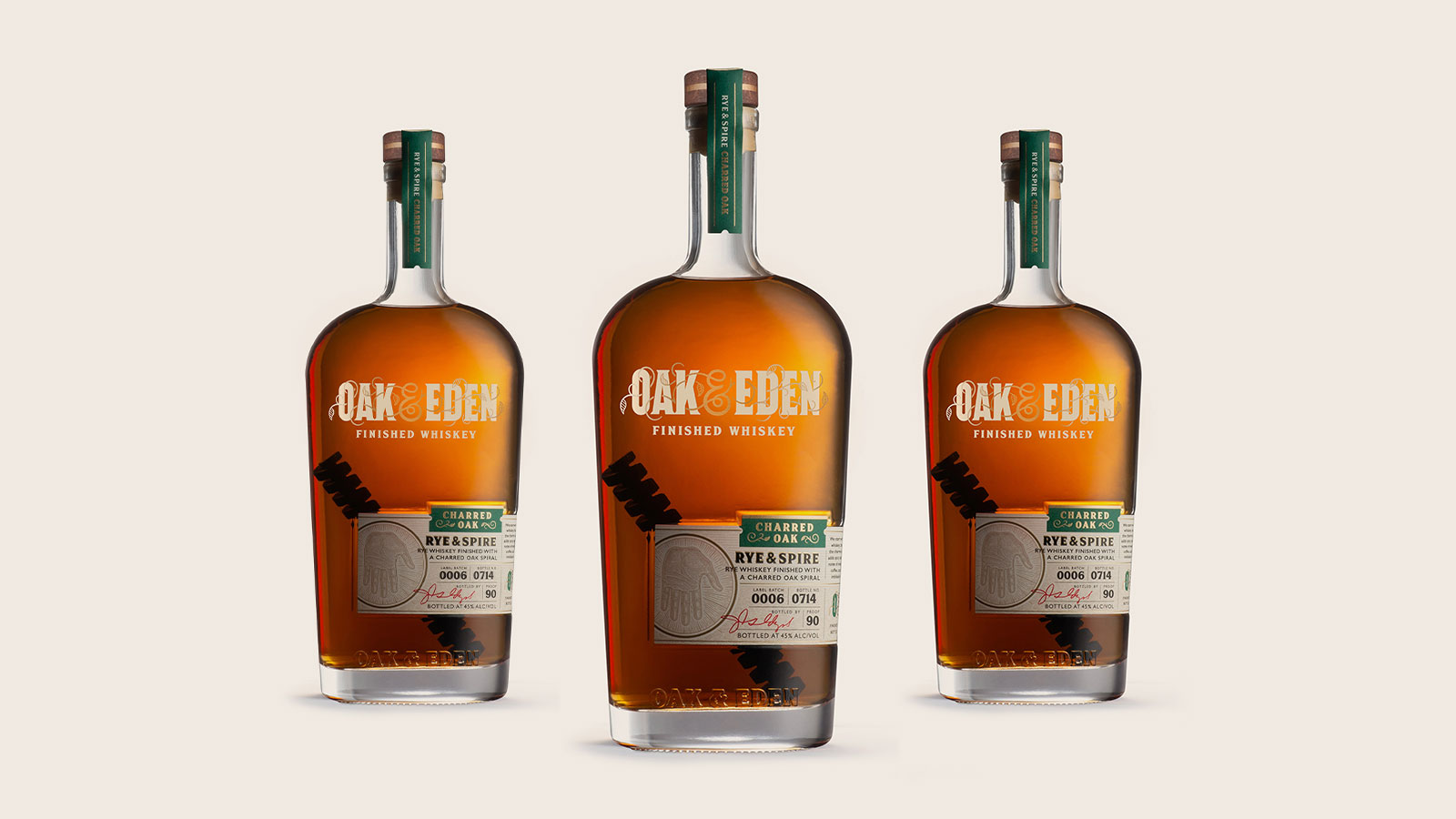 Oak & Eden Round x Jamestown Revival Prairie Rye Whiskey