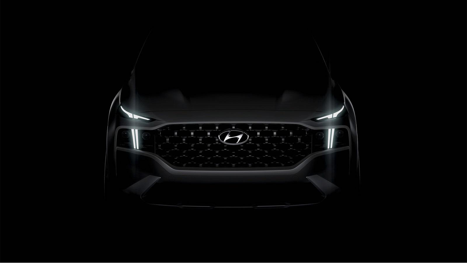 2021 Hyundai Santa Fe Teaser