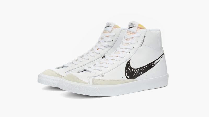 Nike's Blazer Mid 77 Scribble Is Back In Stock - IMBOLDN