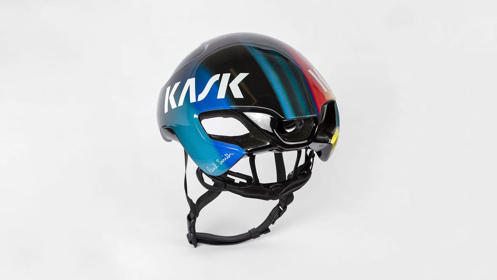 Paul Smith x Kask 'Rainbow Stripe' Utopia US Cycling Helmet