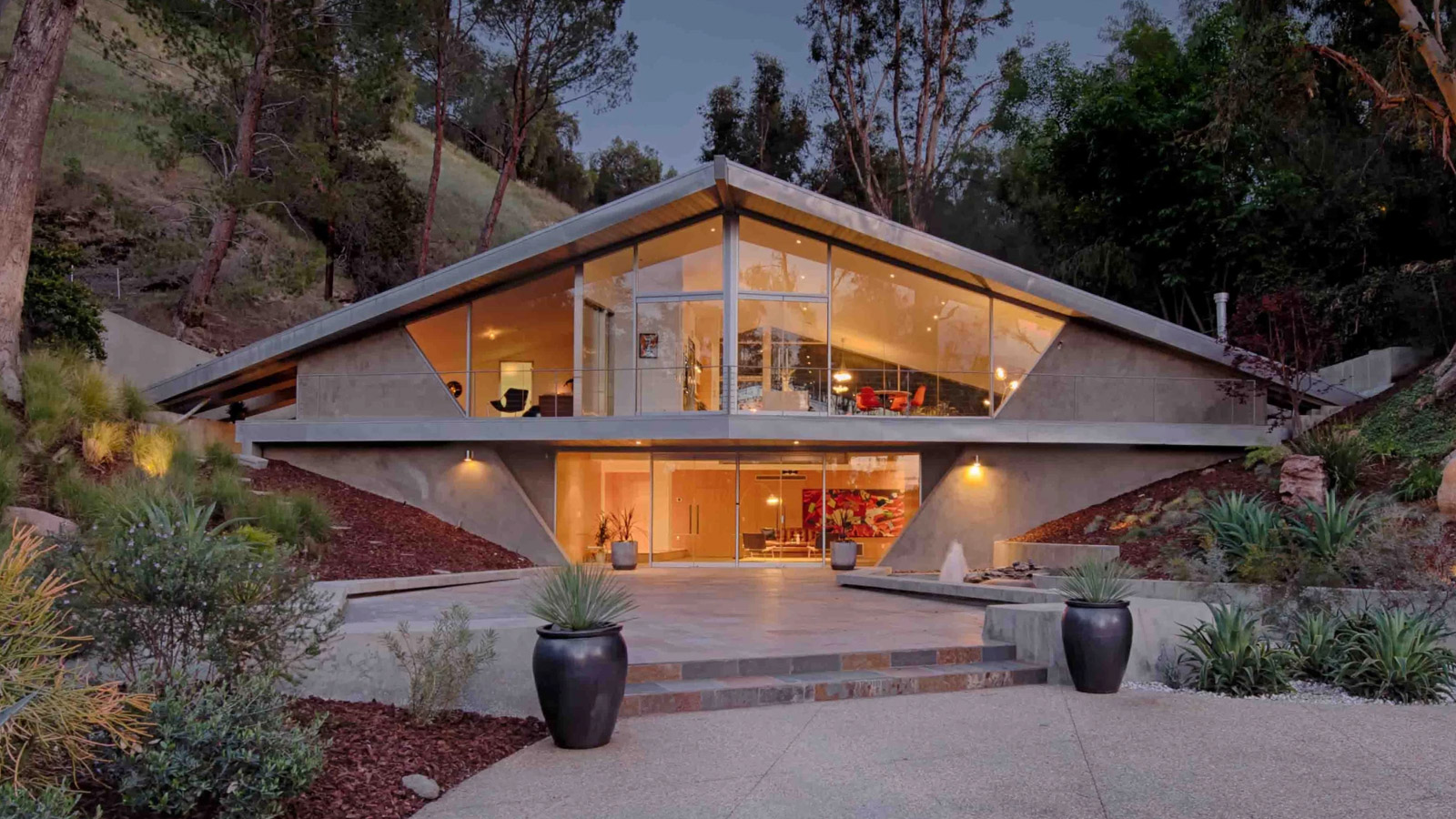 Triangle House by Harry Gesner