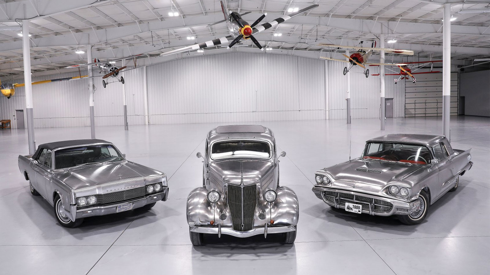 Vintage Stainless Steel Fords