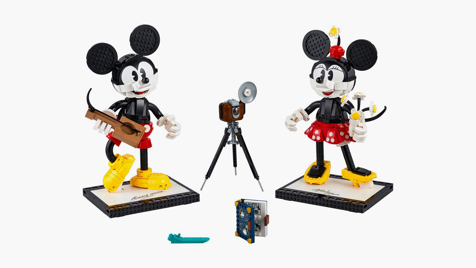 LEGO x Disney Mickey Mouse & Minnie Mouse Buildable Characters