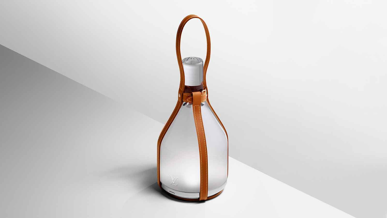 Louis Vuitton Exotic Strap for Bell Lamp by Edward Barber & Jay Osgerby