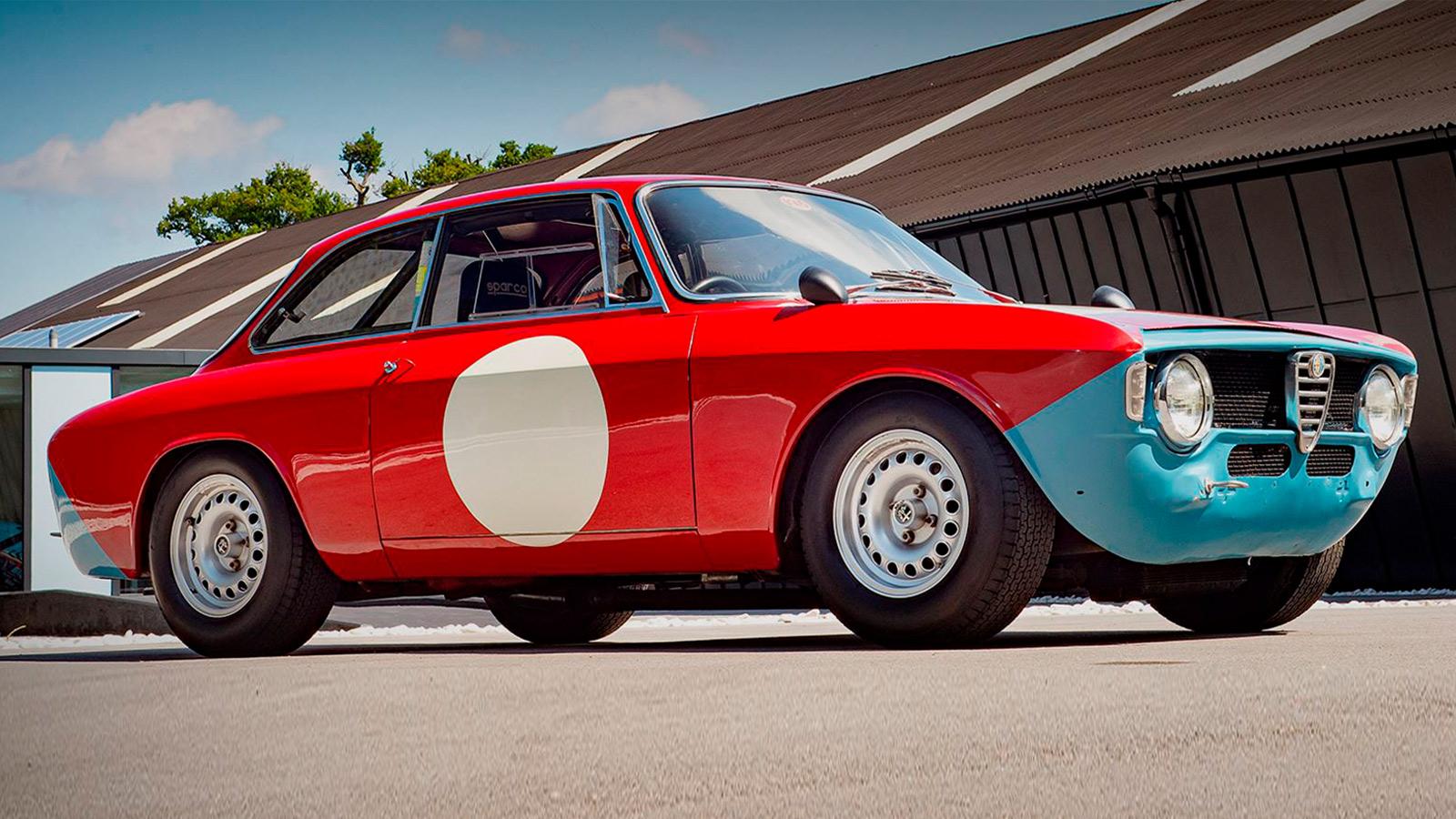 1965 Alfa Romeo1600 GTA Autodelta