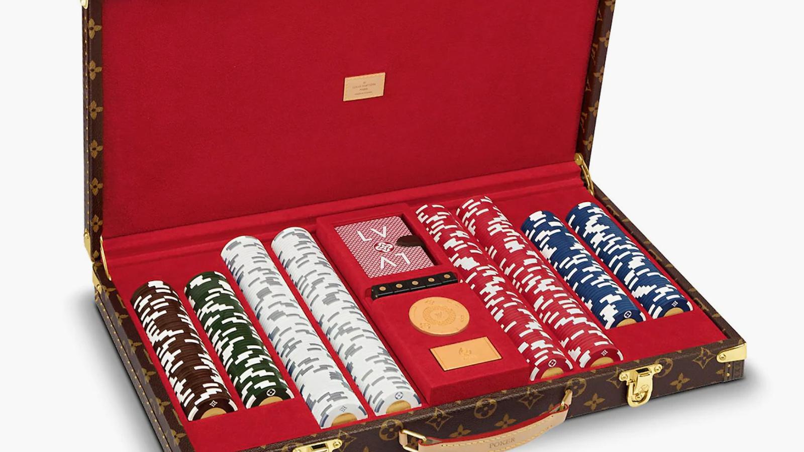 Louis Vuitton Poker Case