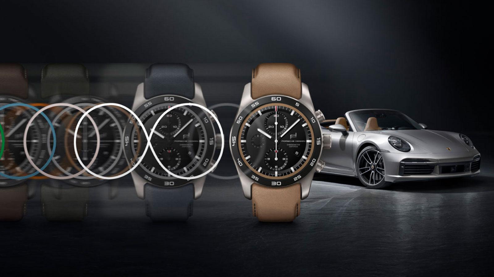 Porsche Design Custom Built Watches
