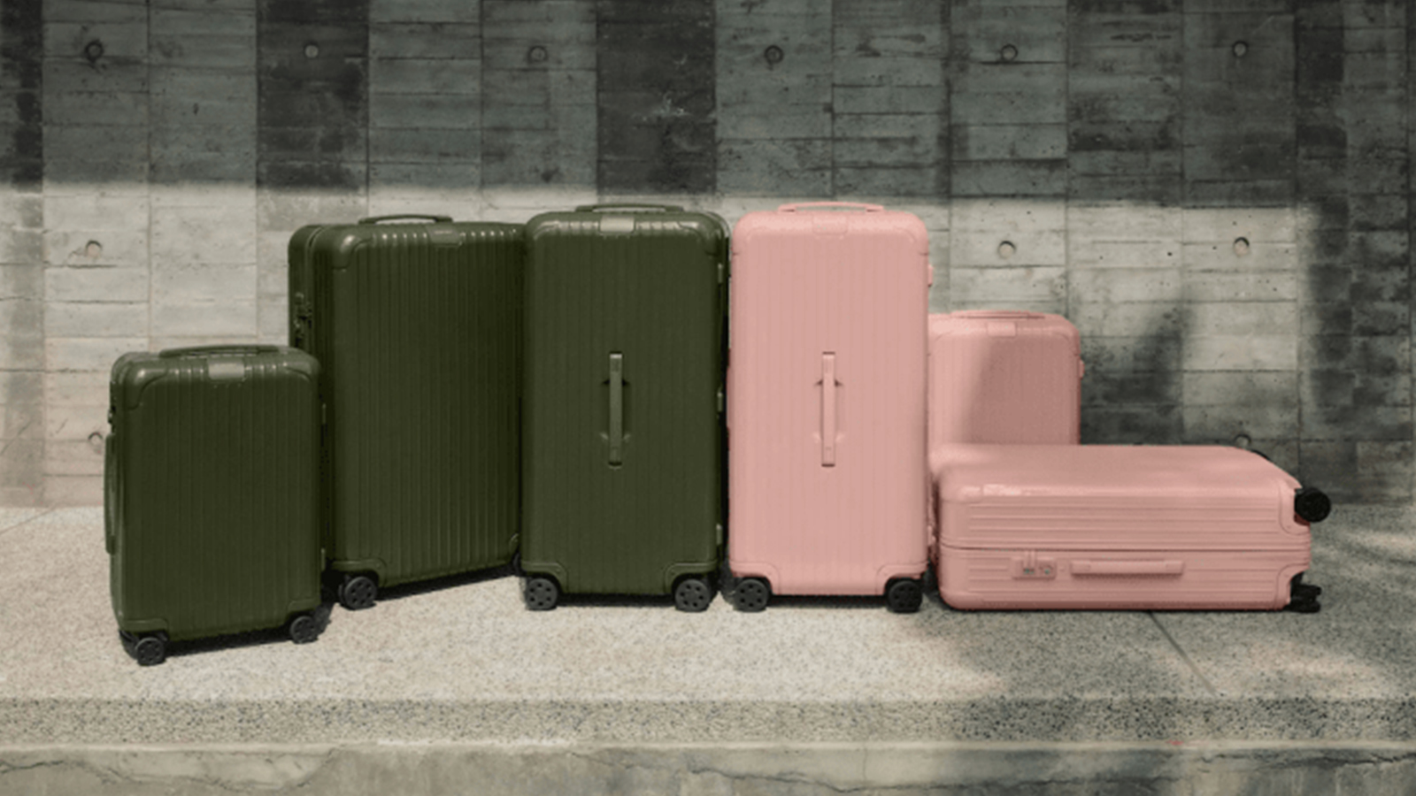 RIMOWA Desert-Inspired Essential Collection
