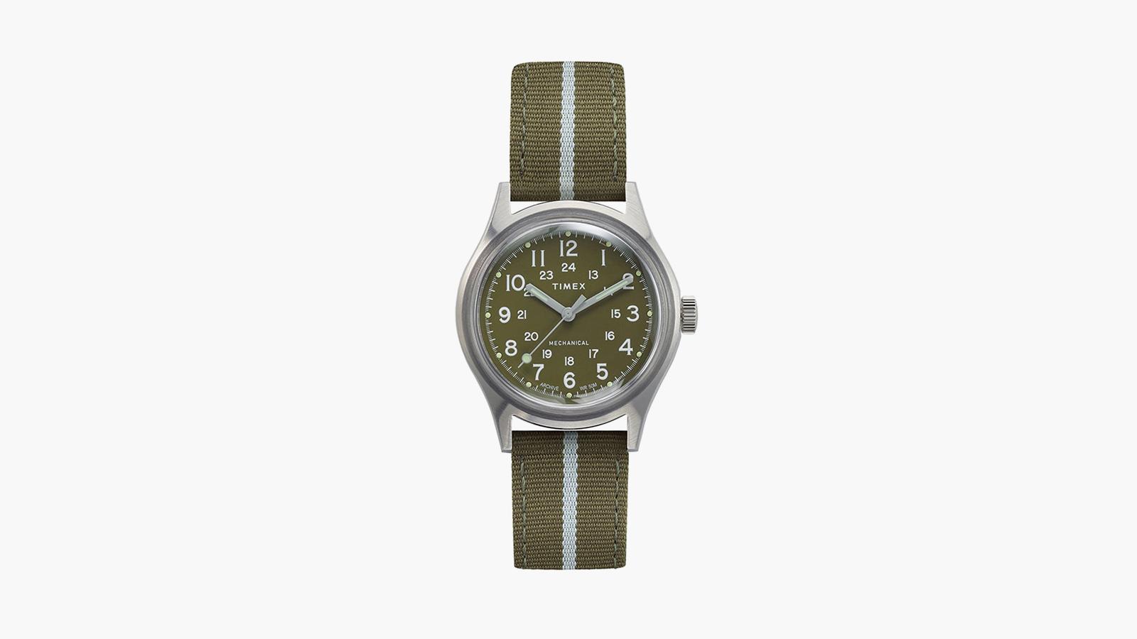 Timex MK1 Mechanical 36mm Fabric Strap Watch