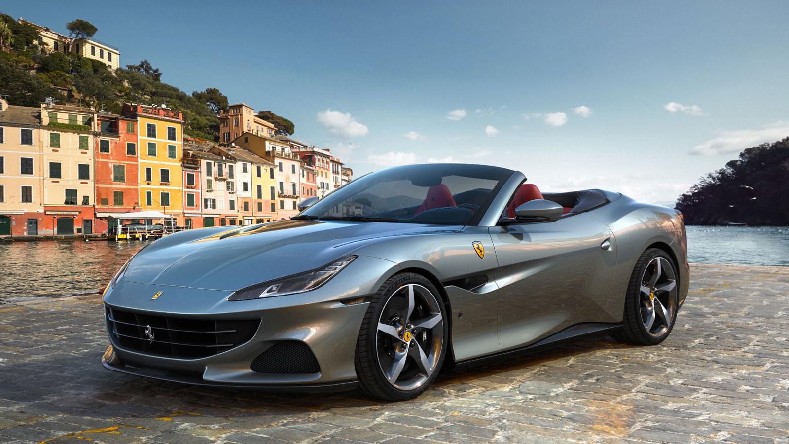 the new 2021 ferrari portofino m gets more of everything