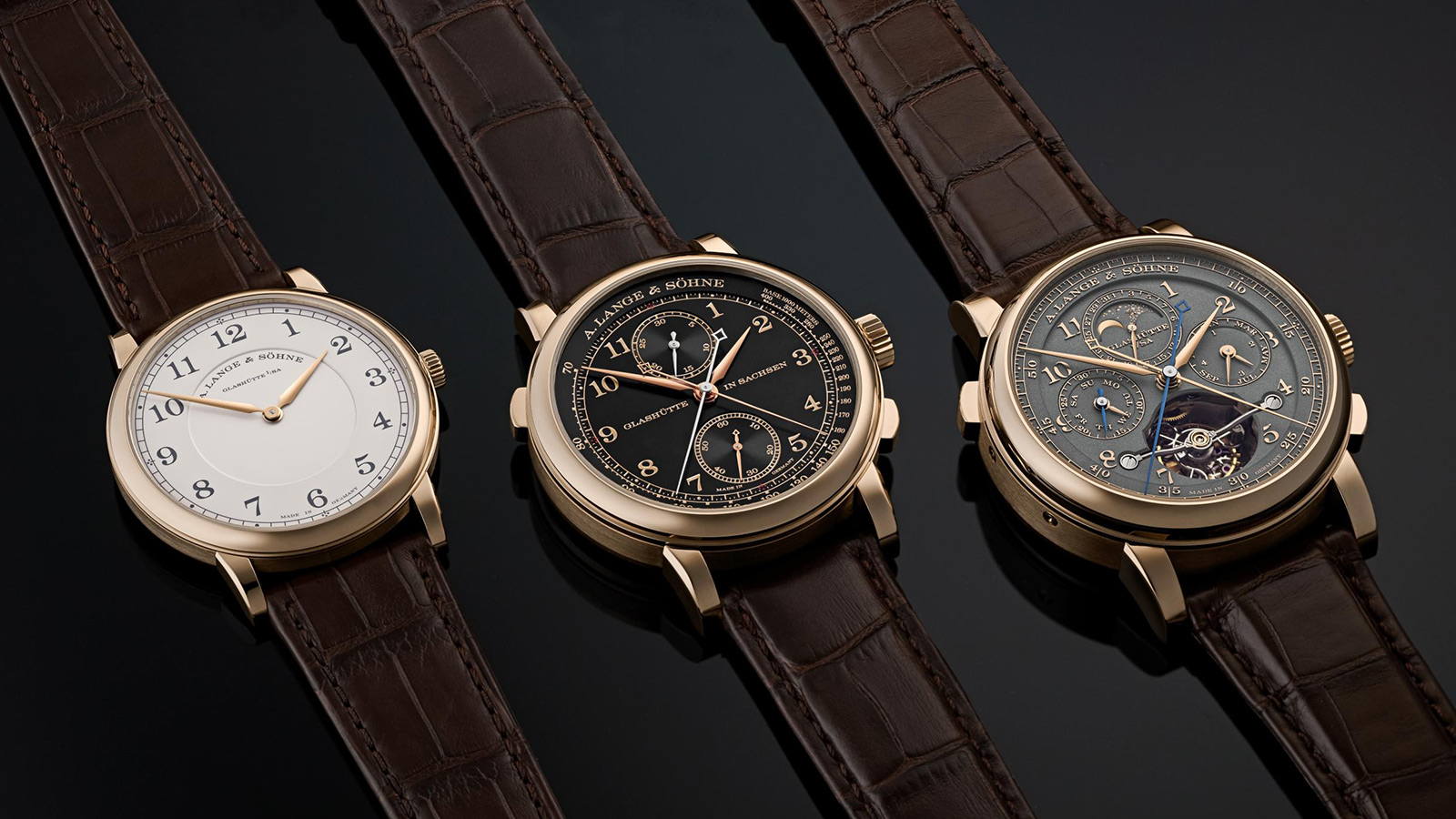 A. Lange & Söhne Homage to F.A. Lange Collection