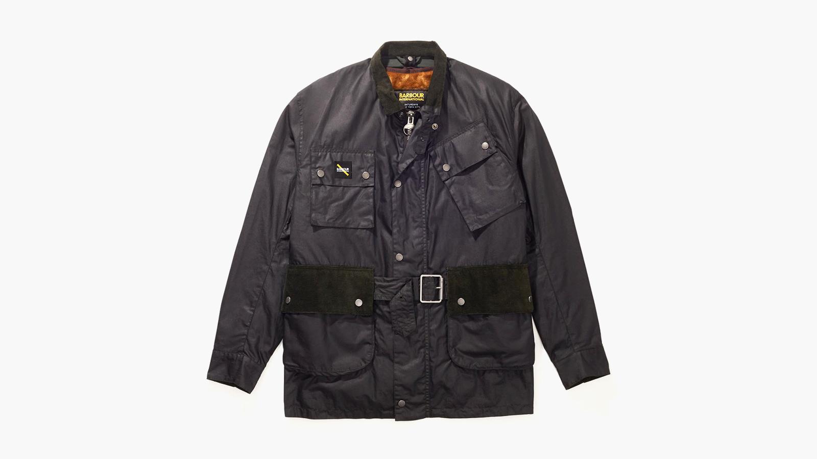 Barbour x Saturdays NYCWinter Wax Jacket