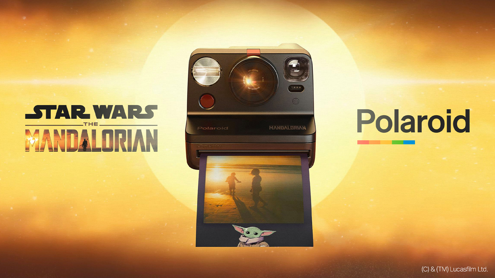 Polaroid Star Wars: The Mandalorian Edition